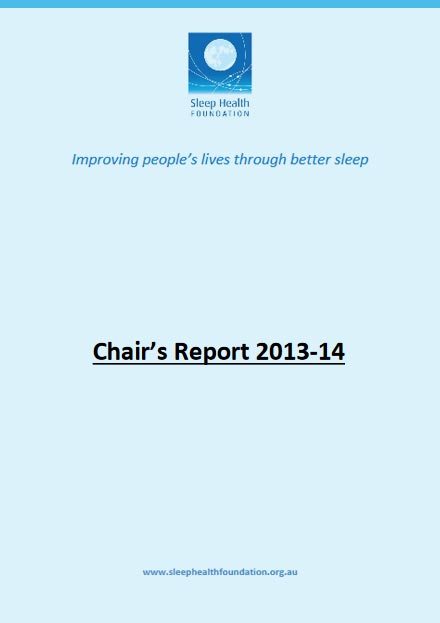 Chair's Report 2013-14